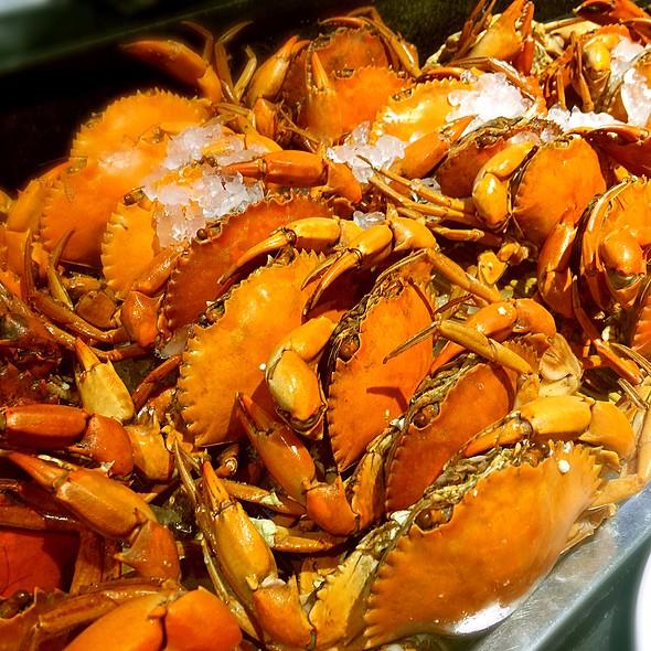 水煮紅蟳螃蟹 @ 漢來海港餐廳