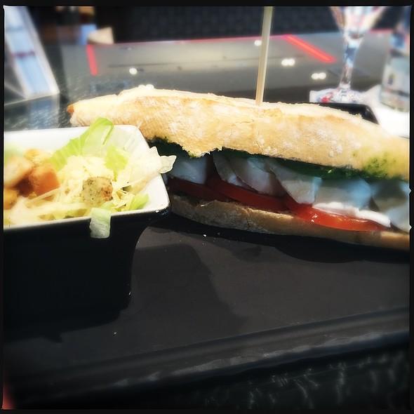 Tomato, Mozzarella And Avacado Sandwich @ Leonardo Royal Hotel Munich