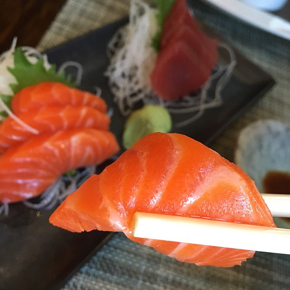 Salmon Sashimi - MOzen Bistro - Mandarin Oriental, Las Vegas, Las Vegas, NV