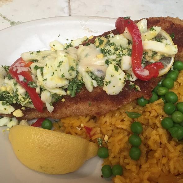 Merluza Russian Style - Columbia Restaurant - St. Augustine, St. Augustine, FL