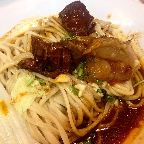 Braised Beef And Tendon Dry Noodles