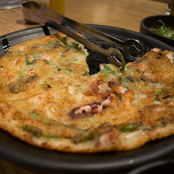 Seafood Pancake @ miss KOREA BBQ