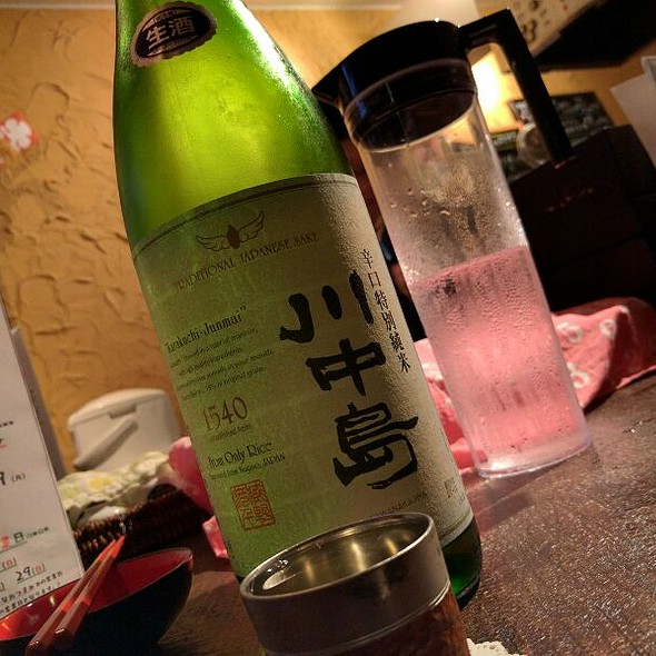 川中島 辛口特別純米 @ 日本酒Bar 45 しじゅうごえん