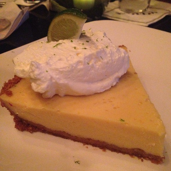 Key Lime Pie - Morton's The Steakhouse - Las Vegas, Las Vegas, NV