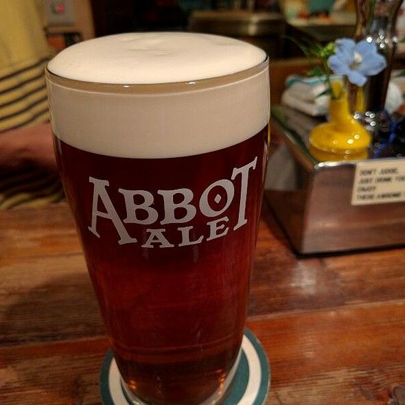 Abbot Ale @ European Beer Pub Pigalle ヨーロピアンビアパブ ピガール
