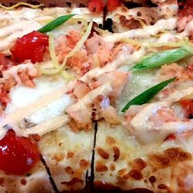 Lobster and Fresh Mozzarella Flatbread