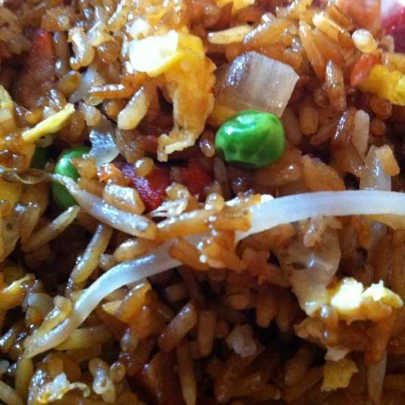 Pork Fried Rice @ Panda Garden