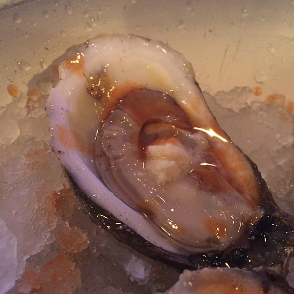 Oyster In Salty Brine