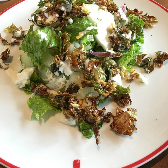 Brussels Sprout Salad @ Farmers Fishers Bakers