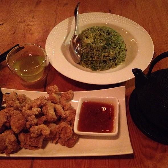 Mc Hammer, Mo Money, And The Girl Eith The Black Dragon Tatoo @ Kanpai Snack Bar