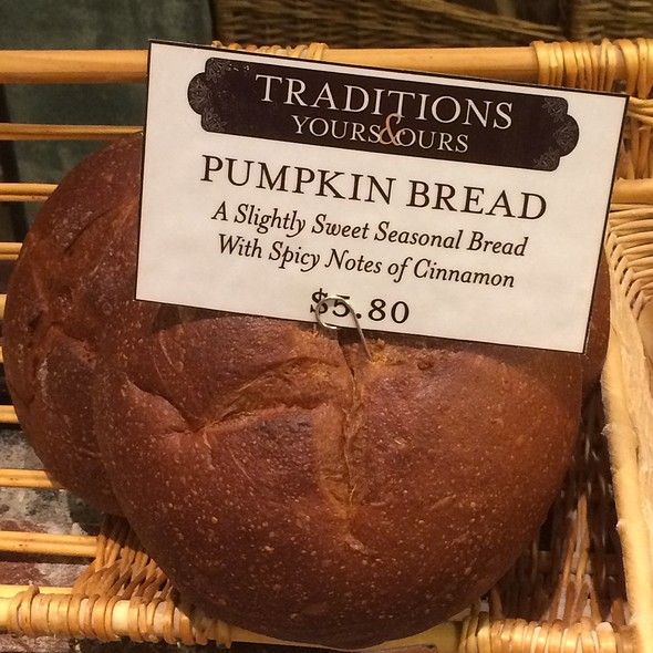 Limited Edition Pumpkin Bread