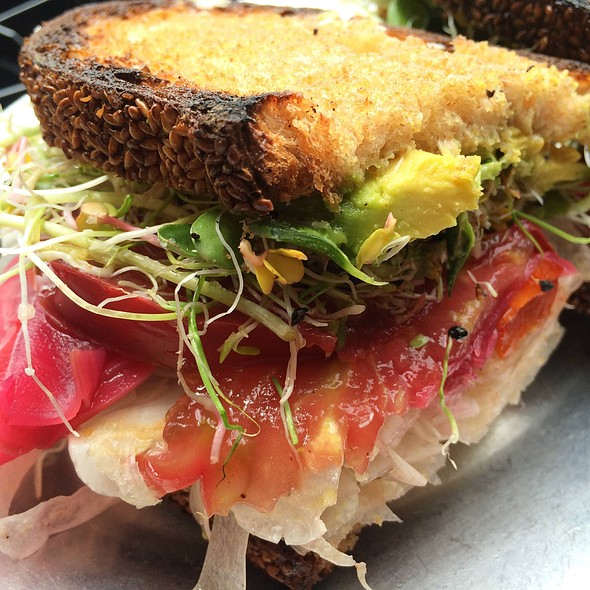 Veggie Sandwich @ Gjelina Take Away