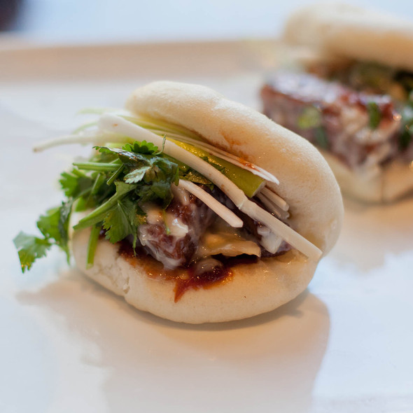 Pork Buns - FANG, San Francisco, CA