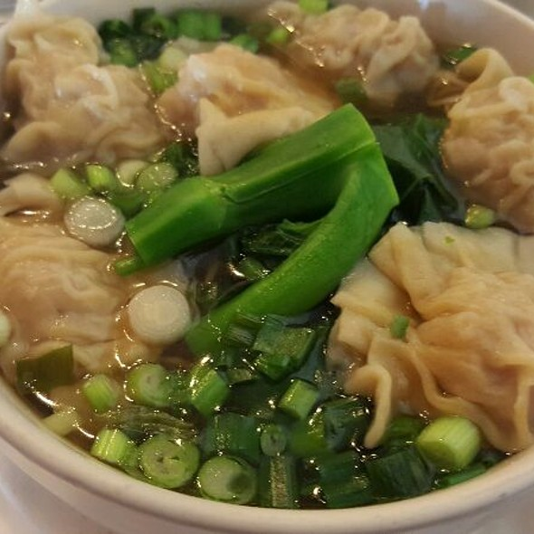 Wonton Noodle Soup And Hong Kong Noodles