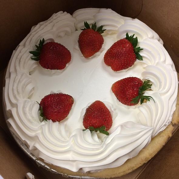 Fresh Strawberry Pie @ Anna Miller's 24 Hour Restaurant