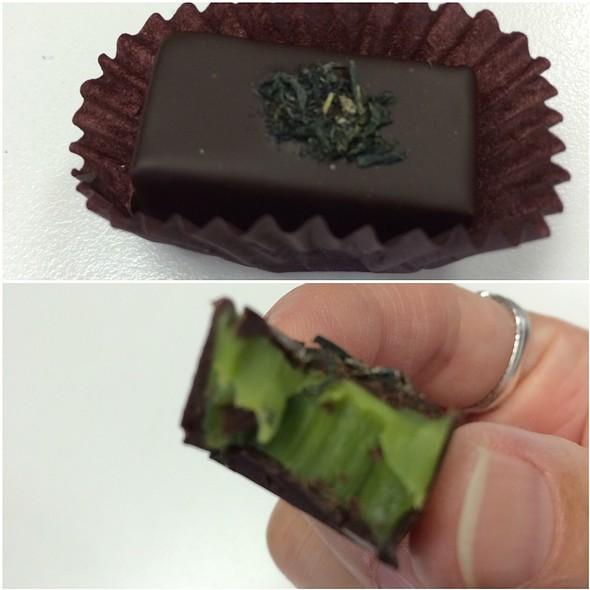 Matcha Green Tea Chocolate @ Rokumeikan Tokyo Chocolate
