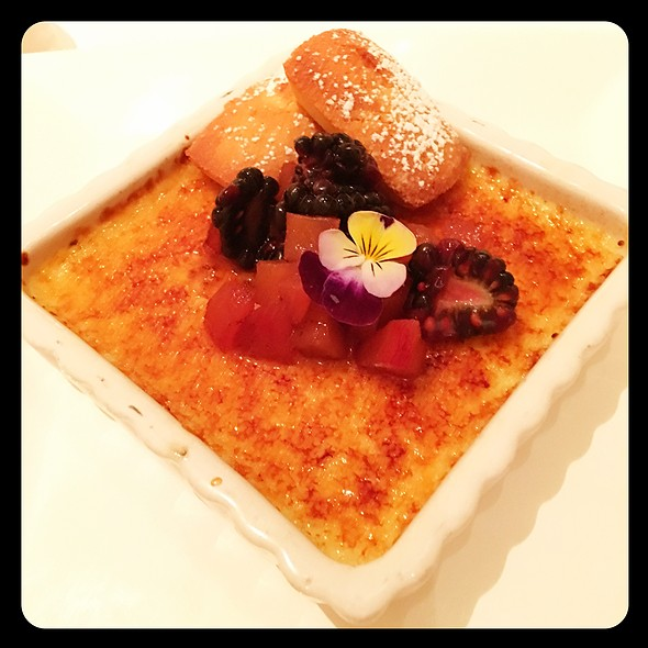 Creme Brulee @ SW Steakhouse