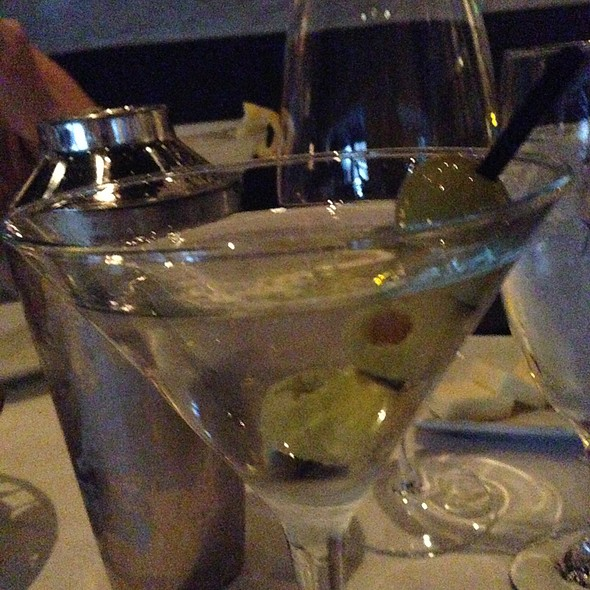 Vodka Martini @ Mastro's Ocean Club