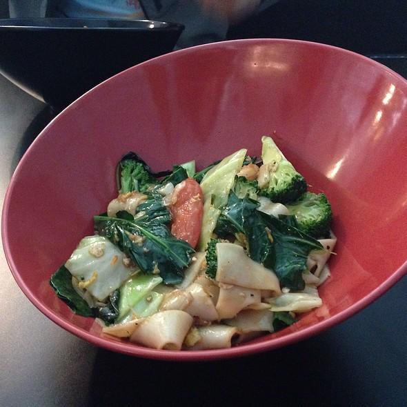 Drunken Noodles with Shrimp @ Spice and Dice Thai Restaurant