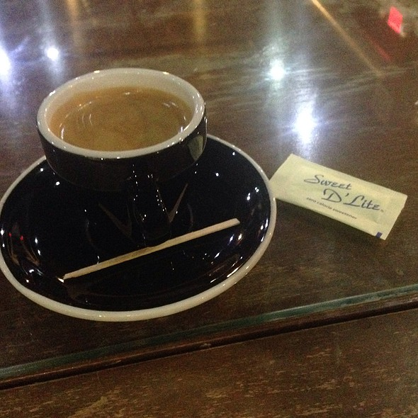 Double Espresso @ Black Hole Coffee