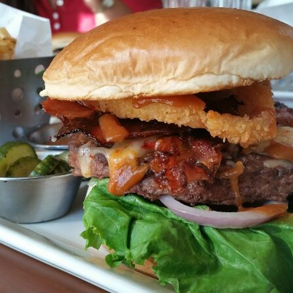 Sweet And Smokey Burger @ Chili's Galerias Guadalajara
