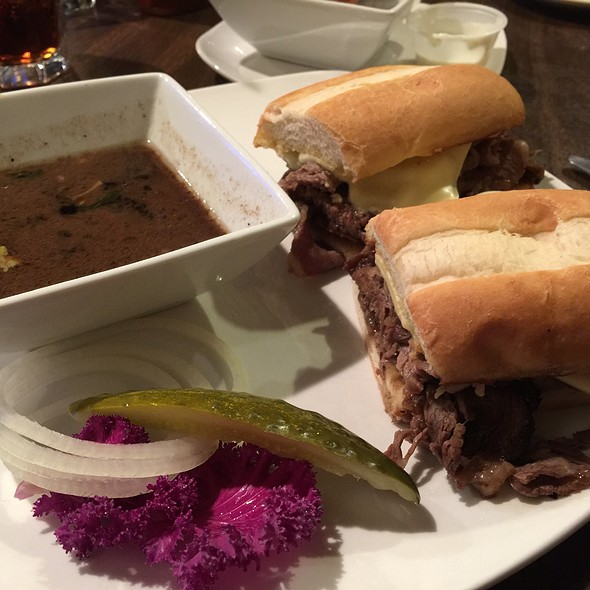 French Dip Sandwich @ The Open Flame