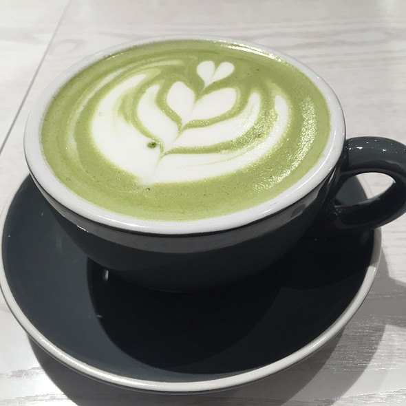 Matcha Latte @ Passion Tree