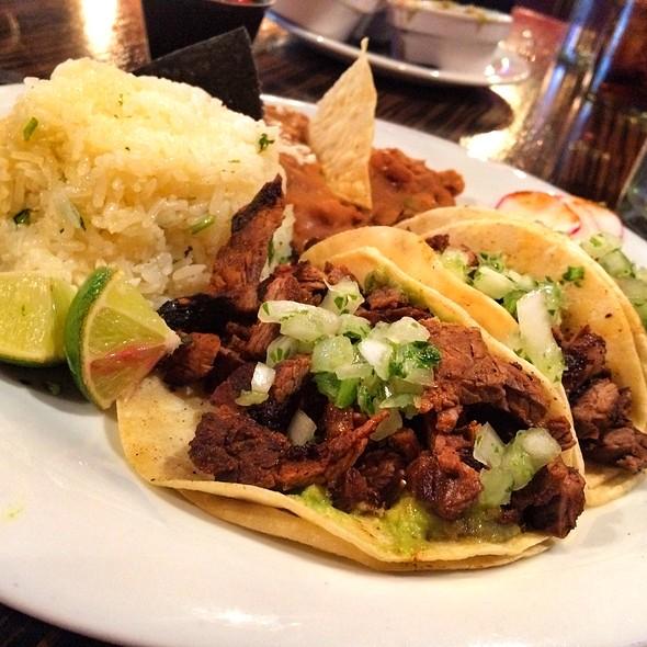 Carne Asada Steak Tacos @ El Dorado Cantina