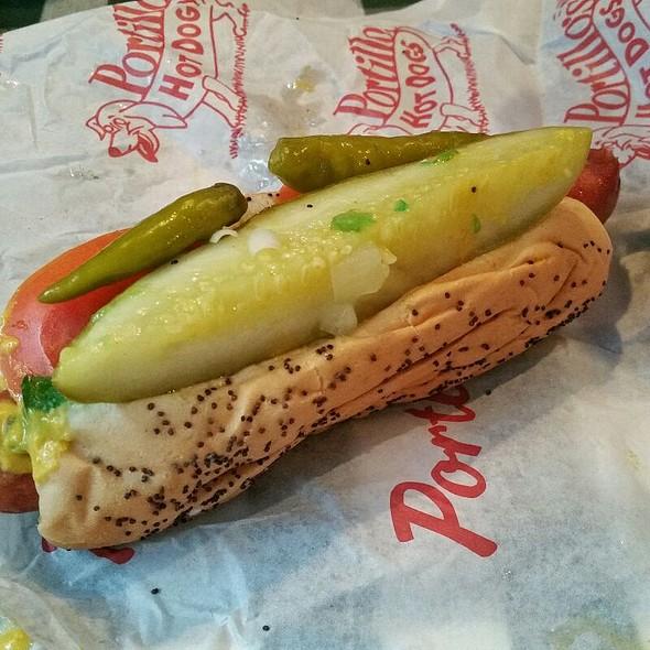 Jumbo Chicago Style Hotdog