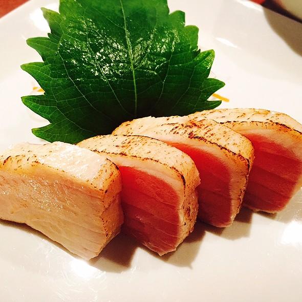 Albacore Tataki Sashimi