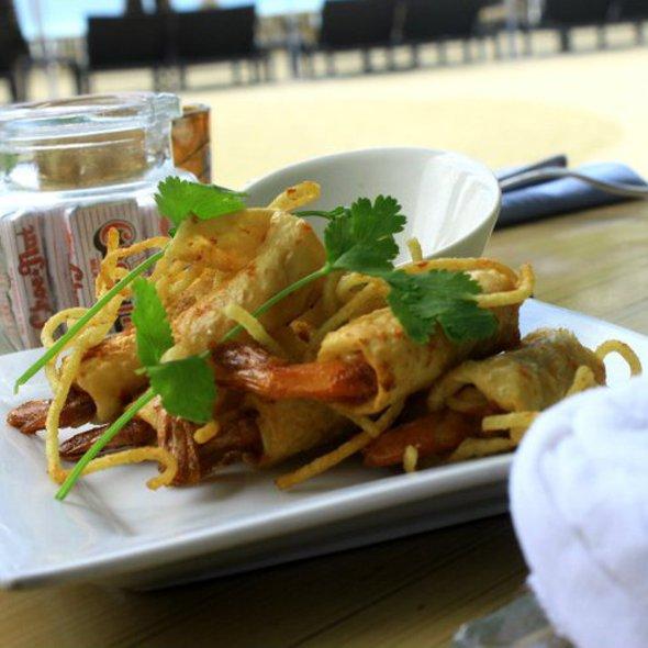 Shrimp Firecrackers @ Discovery Shores