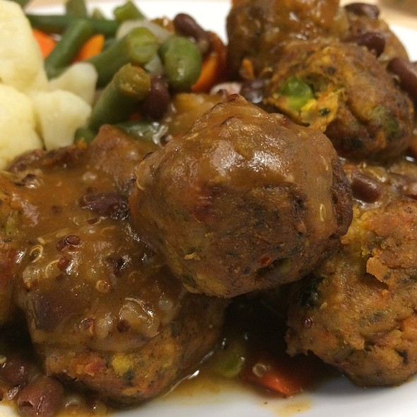 Vegetable Balls @ IKEA Pittsburgh
