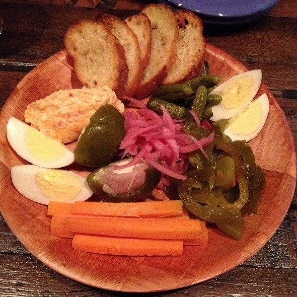 Pickled Plethora Platter - theMINT Gastropub, Bethlehem, PA