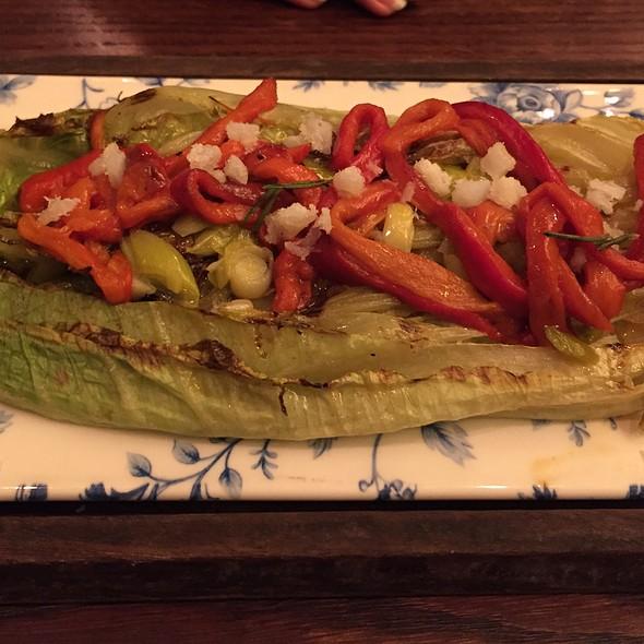 Grilled Lettuce Salad @ El Nacional Bcn