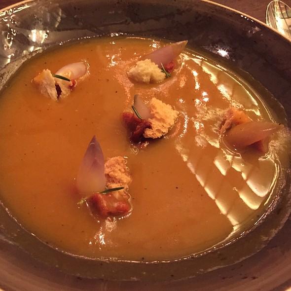Creamed Pumpkin Soup @ El Nacional Bcn