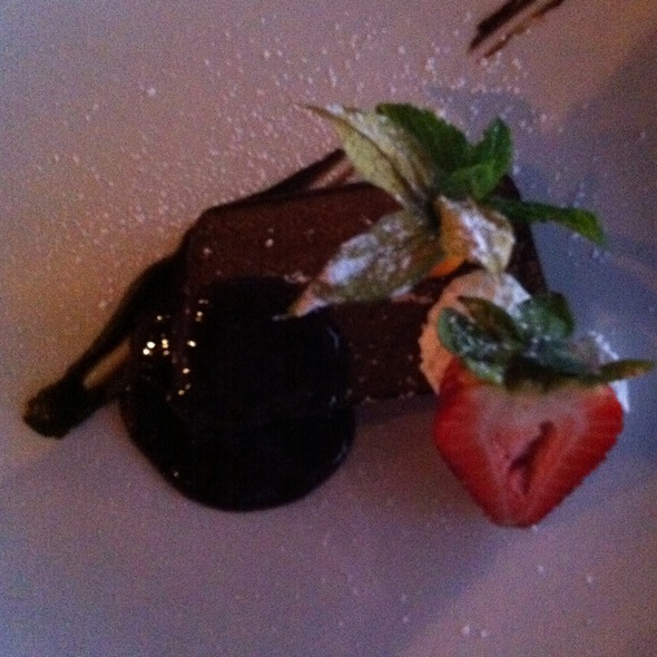 Belgium Chocolate Terrien - Top of Vancouver Revolving Restaurant, Vancouver, BC