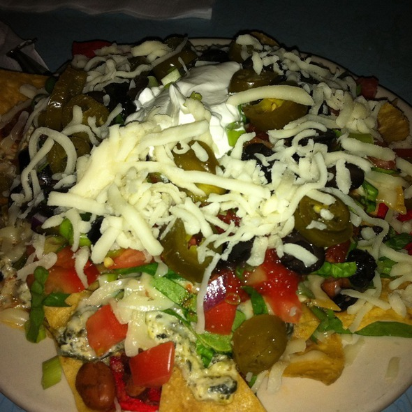 Spinach And Goat Cheese Nachos @ The Brick