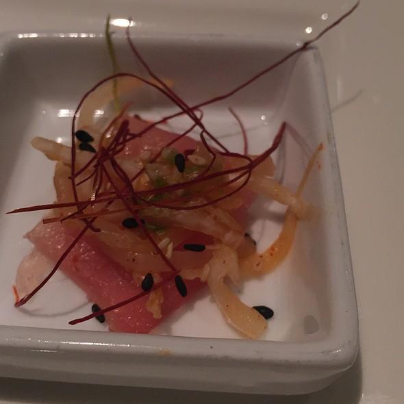 Big Eye Tuna Sashimi
