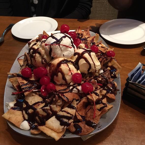 chocolate nachos @ High Velocity