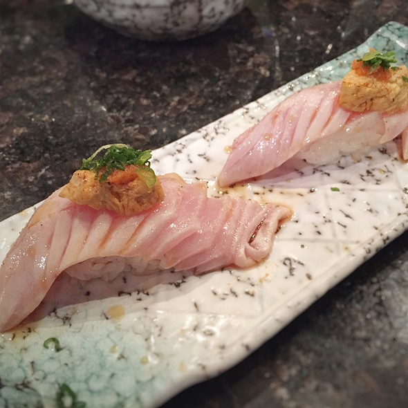 Albacore Tuna With Ankimo