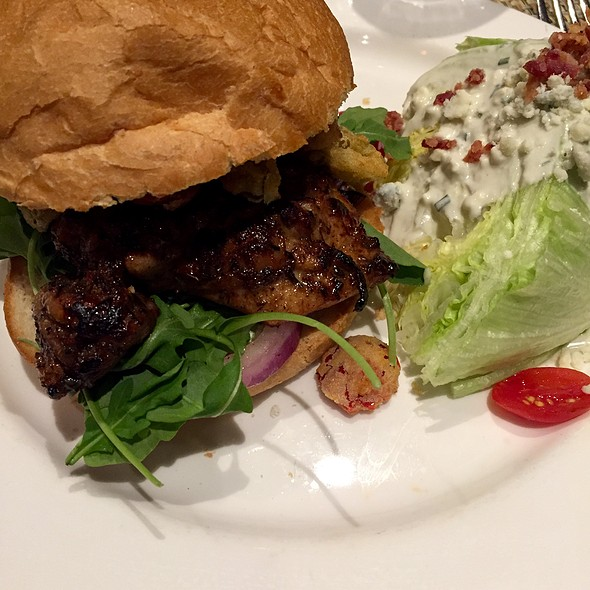 Carribean Jerk Chicken Sandwich - Max's Tavern, Springfield, MA