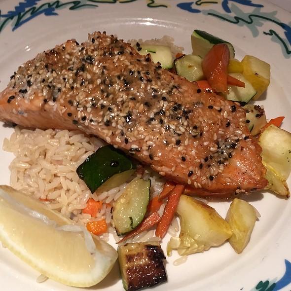 Miso Glazed Sesame Salmon - The Sole Proprietor, Worcester, MA