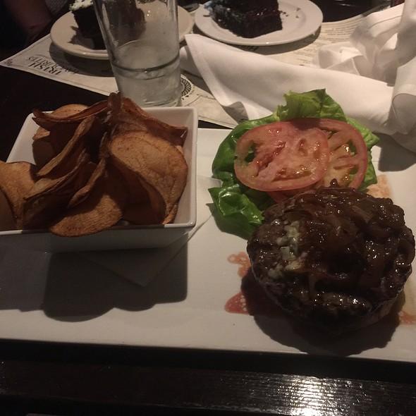 Lamb Burger & House Made Chips & Hp - Wilde Rover Irish Pub & Restaurant, Kirkland, WA