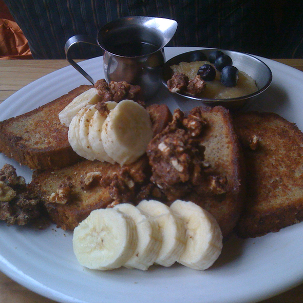 Banana Bread French Toast @ Water Course Food