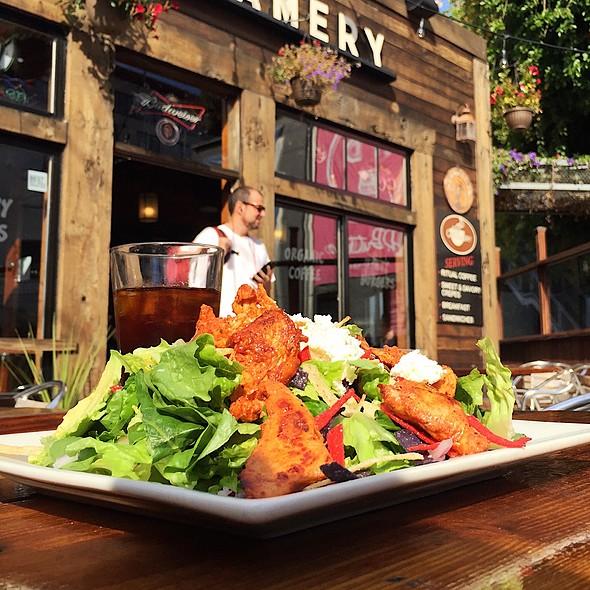 Santa Fe Grilled Chicken Salad @ Creamery
