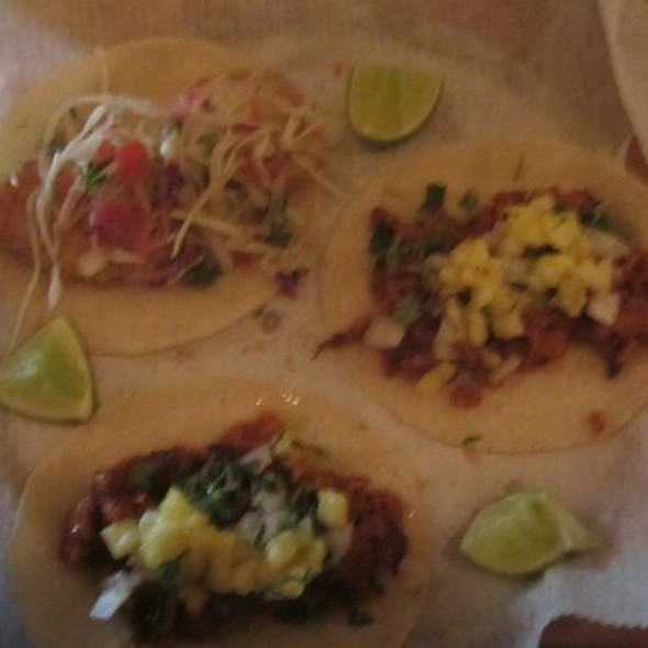 Assorted Tacos