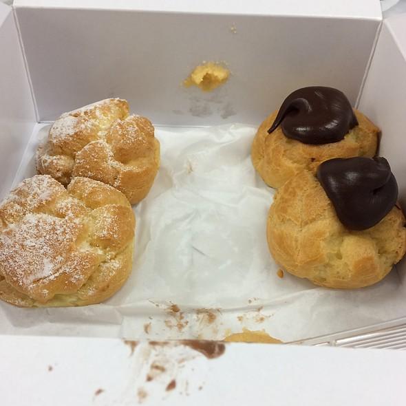 Assorted Cream Puffs @ Liliha Bakery