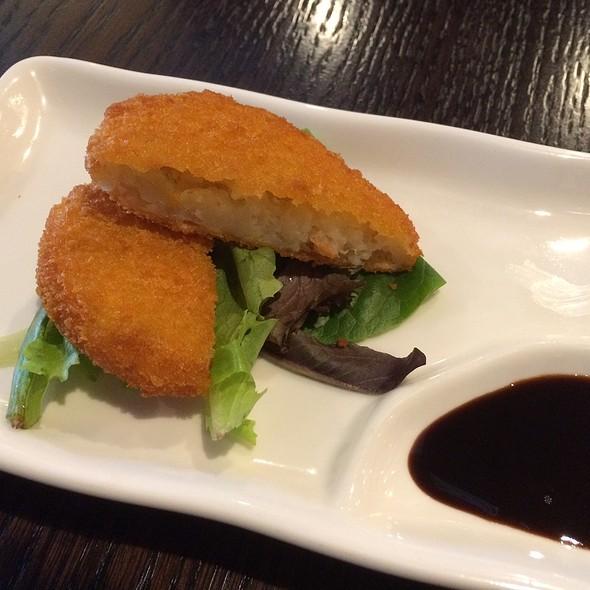 Panko Crusted Potato Croquette @ Kumamoto ramen