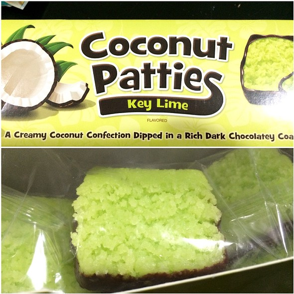 Key Lime Flavored Coconut Patties @ Anastasia Confections, Inc.