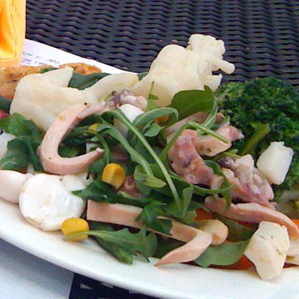 Seafood Salad @ Master Beer